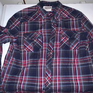 Mountain Khaki flannel